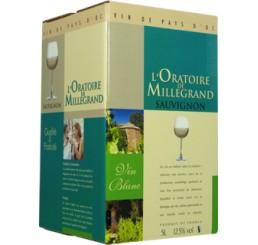L'Oratoire de Millegrand NV (Cask of 5L) - Sauvignon - Pays d'Oc