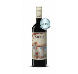 1 La Belle Angèle 2018 Merlot - South France - Silver Medal
